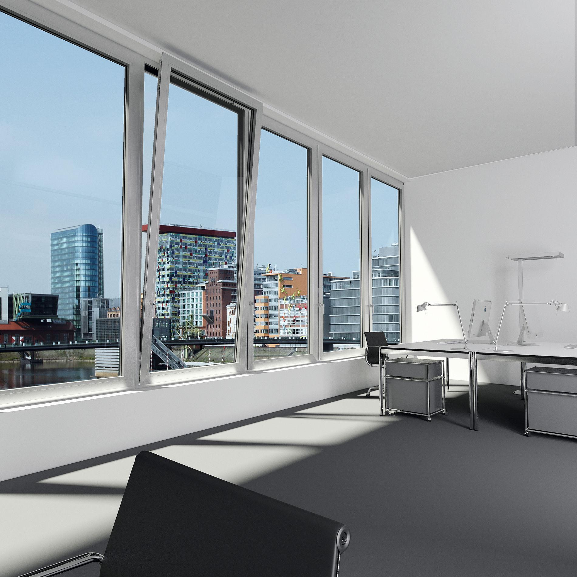 aluminiumfenster gewerb. Black Bedroom Furniture Sets. Home Design Ideas