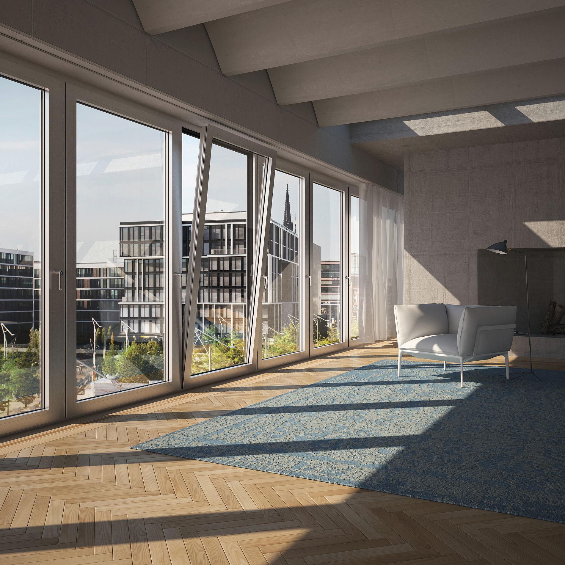 aluminiumfenster. Black Bedroom Furniture Sets. Home Design Ideas